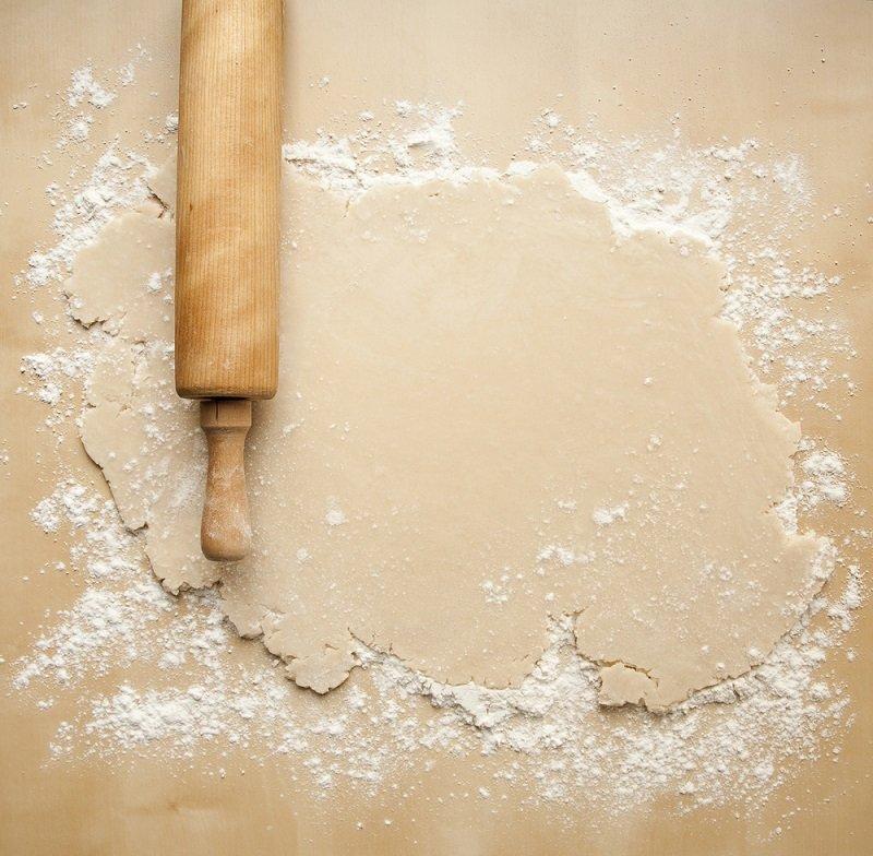 как правильно раскатывать тесто