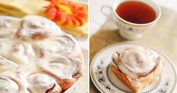 Рецепт для всех любителей корицы. Пряные булочки, вкус и запах которых сводит с ума!