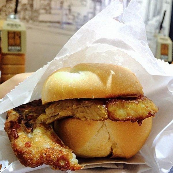 бутерброд из макад