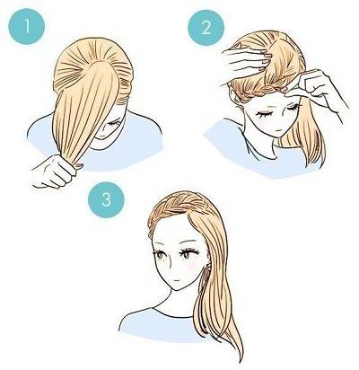 укладка волосся фото