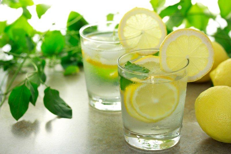 напиток для похудения из лимона