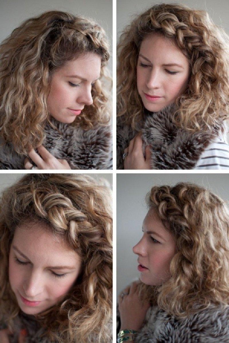 прически из коротких волос на каждый день