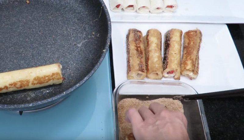 вкусные тосты на завтрак