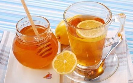 мёд с лимоном