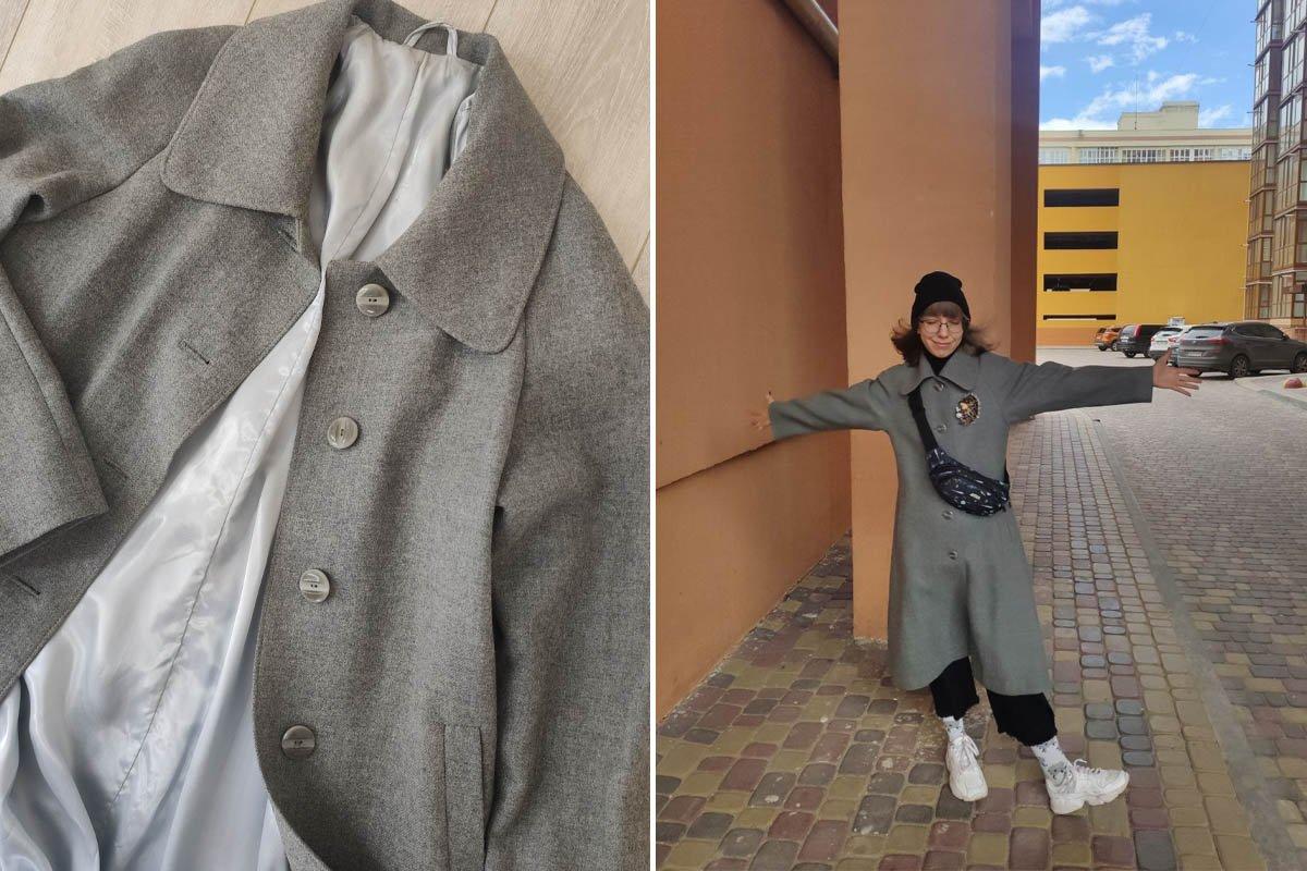Ношу пальто бабушки любимого, из его подкладки можно сшить вечернее платье Вдохновение,Советы,Вещи,Минимализм,Отношение,Пальто,Поколение,Праздник,Психология,Ценность