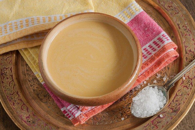 чай с маслом от кашля