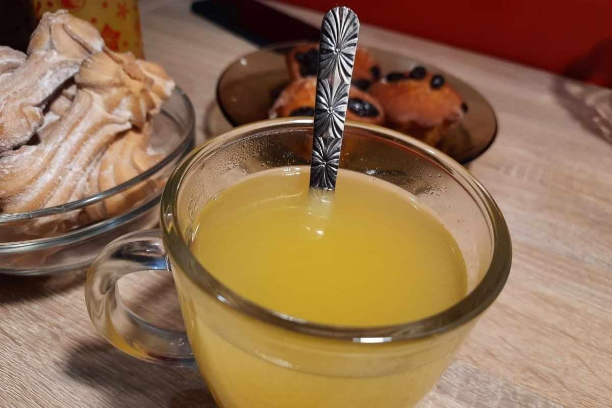 Стакан какого чая выпивает утром бывшая актриса, чтобы радоваться жизни как в молодости Кулинария,Апельсины,Зима,Напитки,Облепиха,Чай