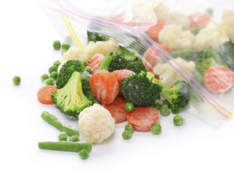 замороженный овощи
