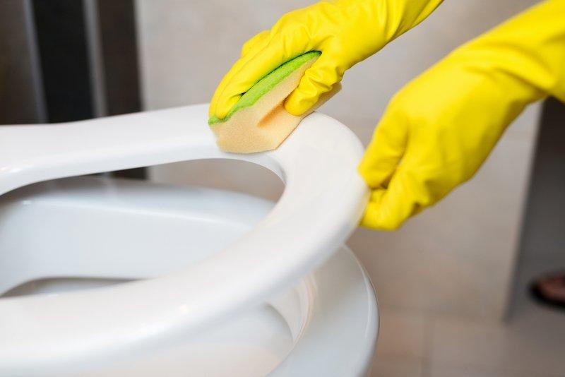 vyčistite záchodovú misu