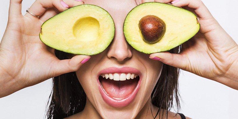 кожа лица и положительные свойства авокадо