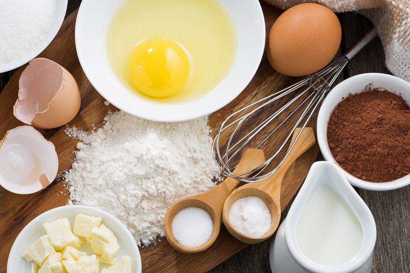Чем можно заменить яйца в выпечке Кулинария,Советы,Выпечка,Лайфхаки,Пост,Тесто,Яйца