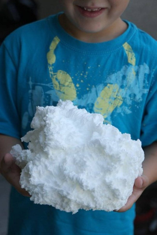 облако из мыла