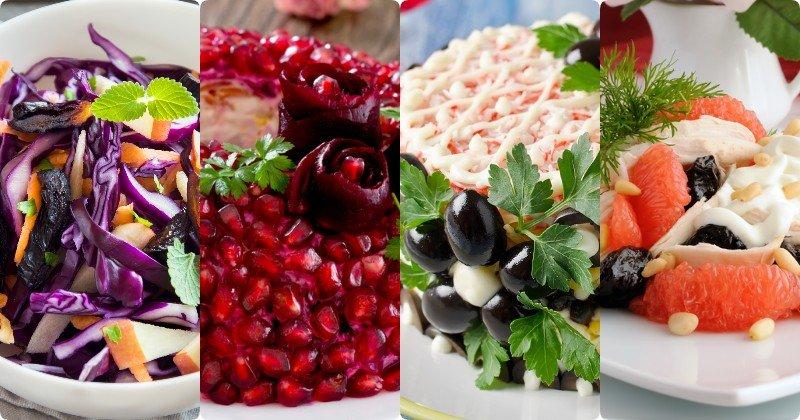 Для желудка и для кишечника: 12 вкусных салатов с черносливом