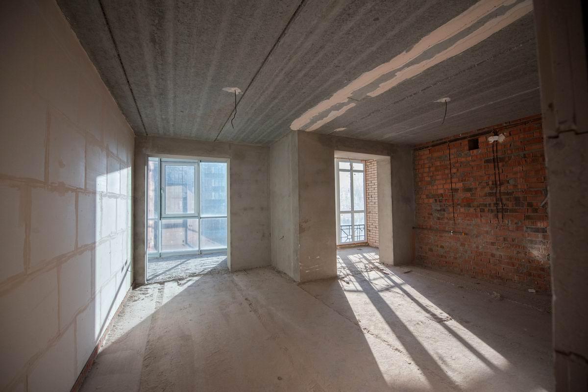Как вышел из положения строитель, у которого не было денег на отделку квартиры Советы,Квартира,Краска,Пол,Ремонт,Стены