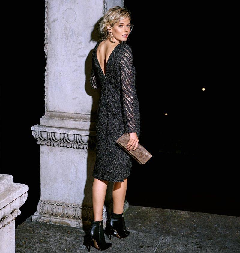 черный цвет в одежде мода