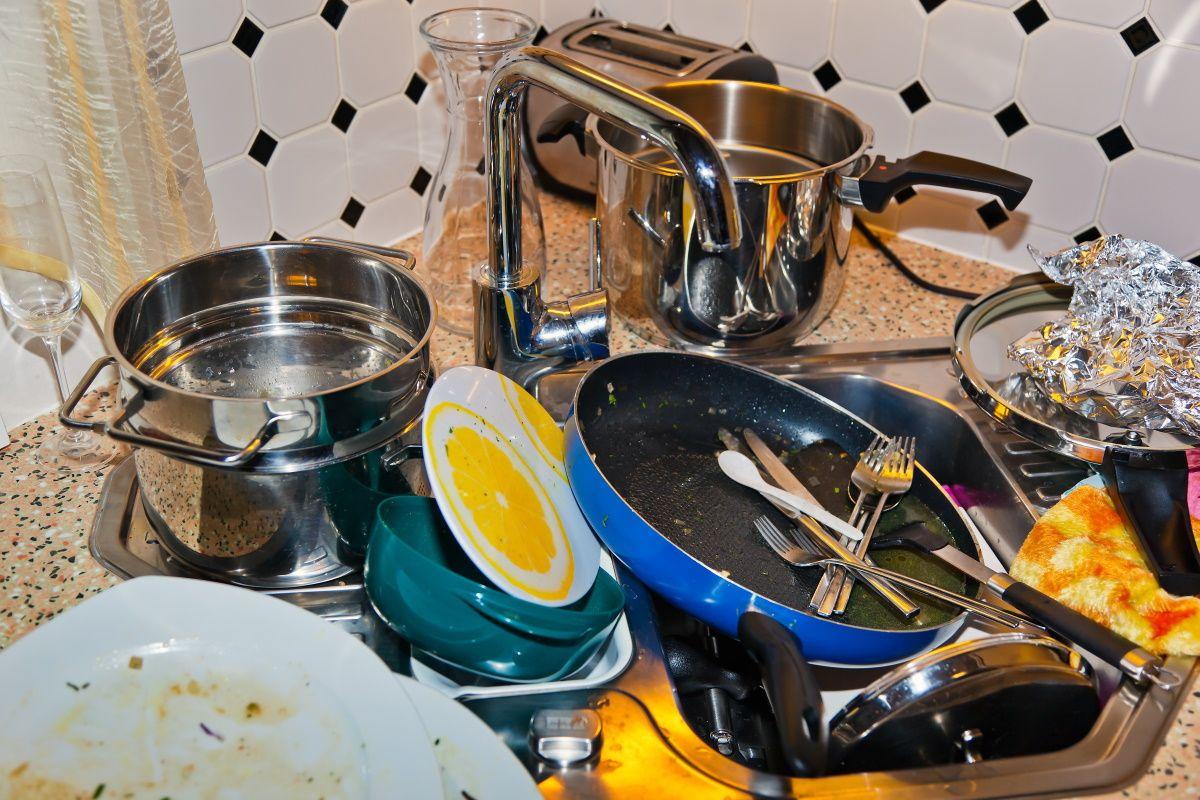 Чистая посуда благодаря одной простой хитрости