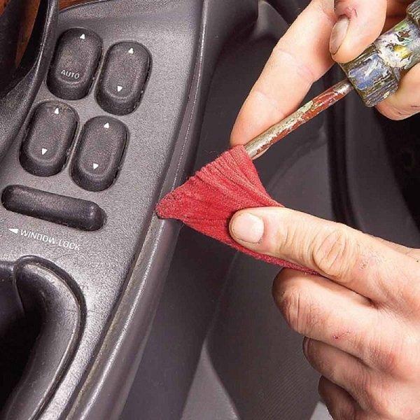 уборка в автомобиле