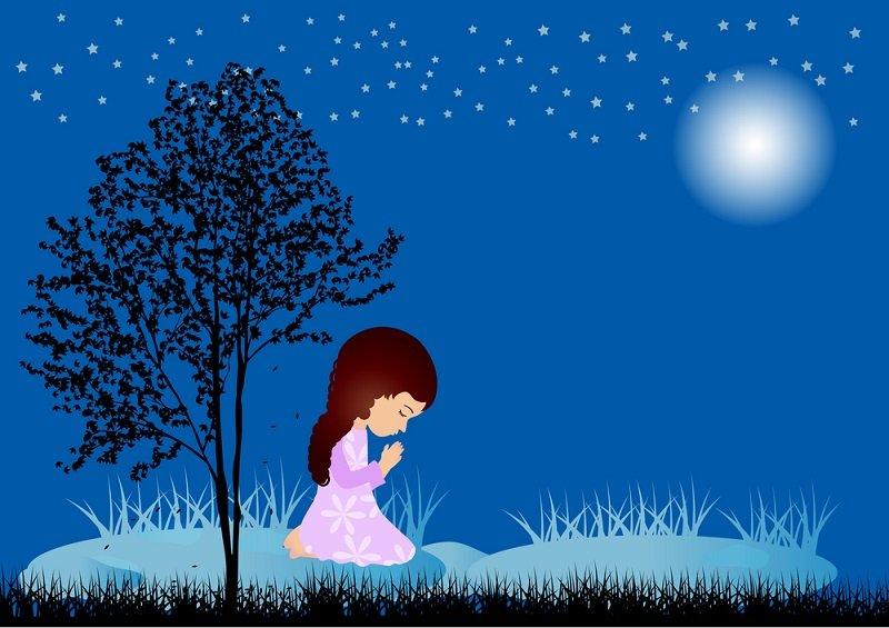 чтение молитв ночью