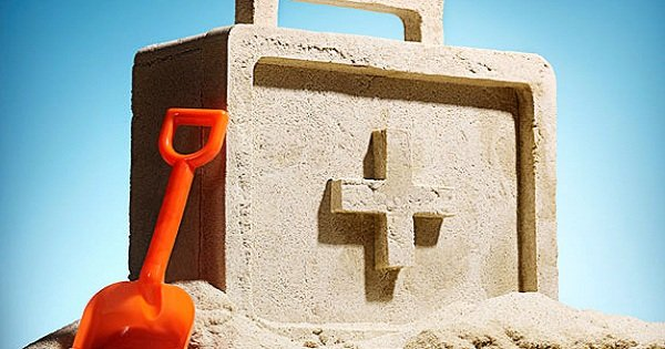 аптечка из песка