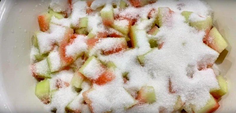Рецепт арбузного варенья Кулинария,Советы,Арбуз,Варенье,Питание,Продукты