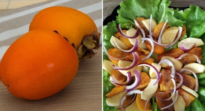 Что можно приготовить из хурмы: рецепт вкусного салата