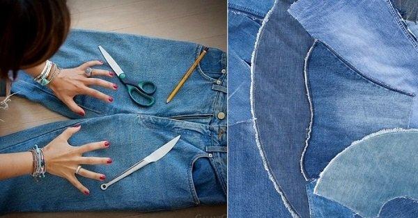 что можно сделать из джинса
