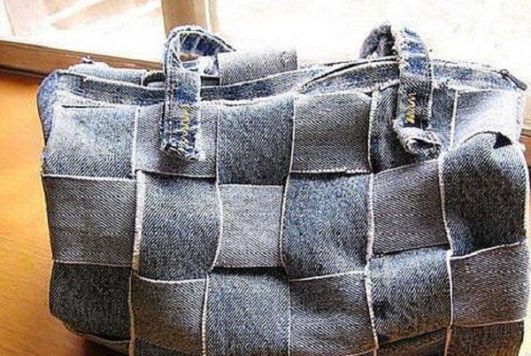 переделка из старых джинс