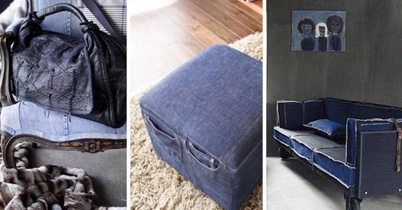 Делаем полезные вещи из старых джинсов своими руками (44 фото) 3
