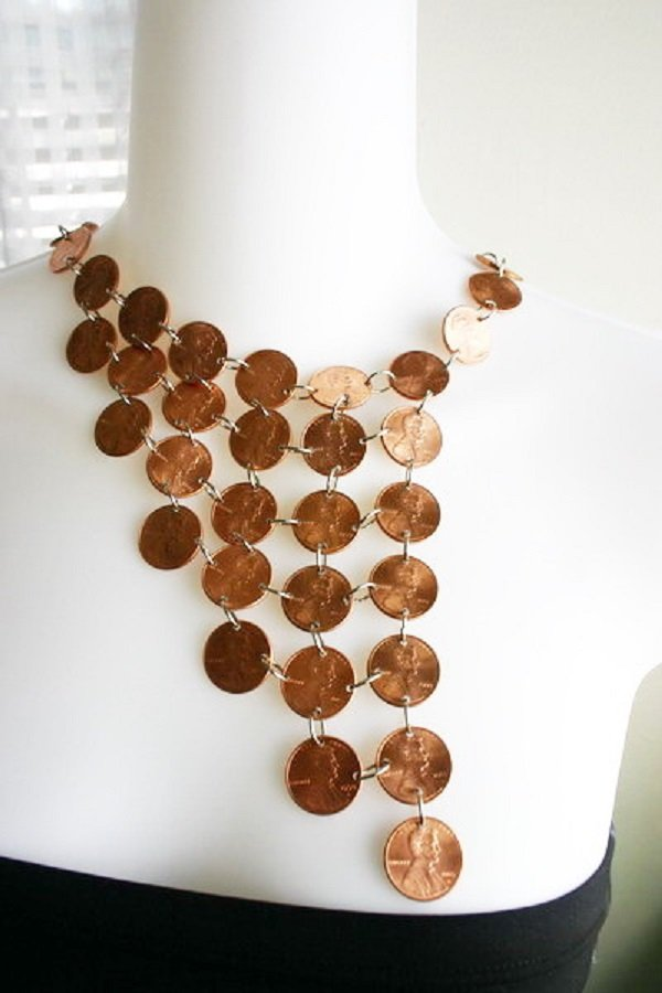 ожерелье из монет
