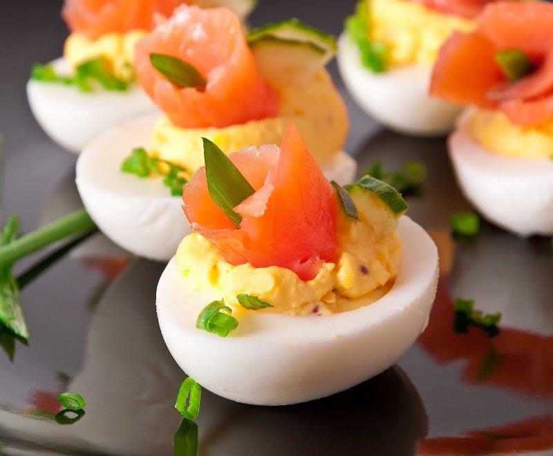 закуска из яиц для детей