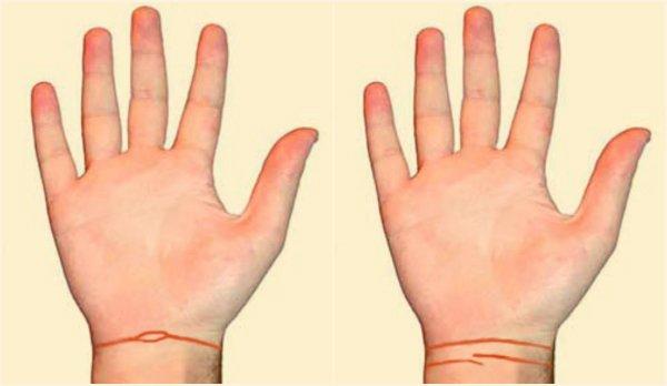 Линии на руке линия отношения 5