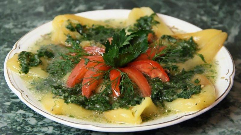 блюда из болгарского перца на зиму