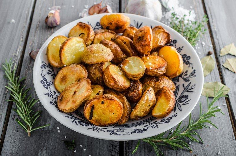 из картофеля в духовке