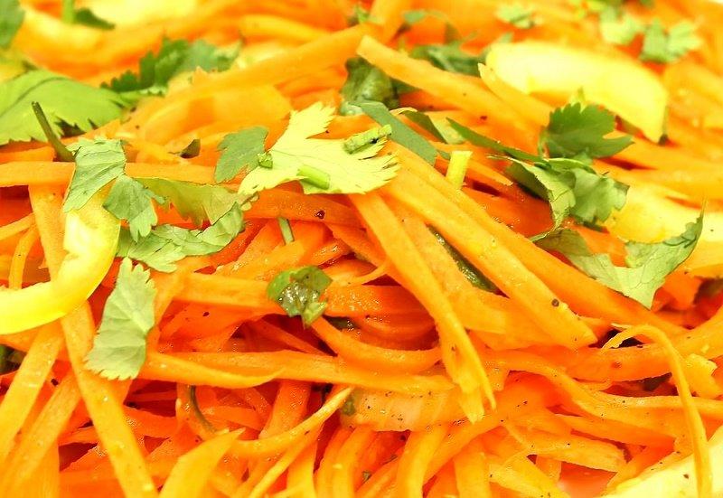 что можно приготовить из моркови быстро