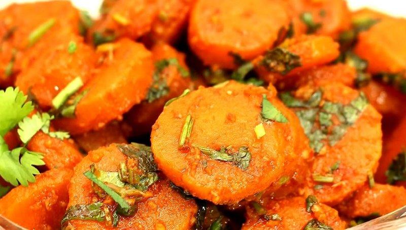 что приготовить с вареной морковью