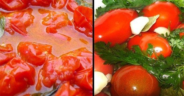 7 рецептов из помидоров для заготовки на зиму. В копилку каждой хозяйке!