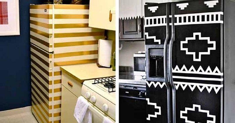 декор холодильника своими руками