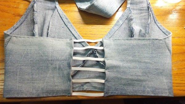 что сделать из джинсов фото