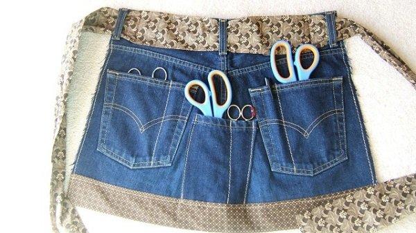 что можно сделать из джинсовых штанов