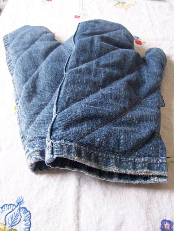 что сделать из старых джинсов фото