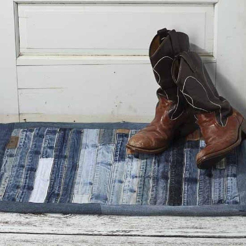 что сшить из старых джинсов