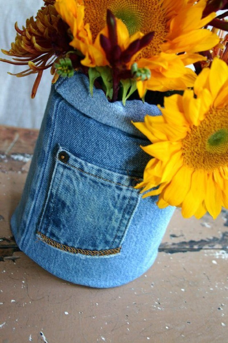 что можно сшить из старой джинсовой юбки