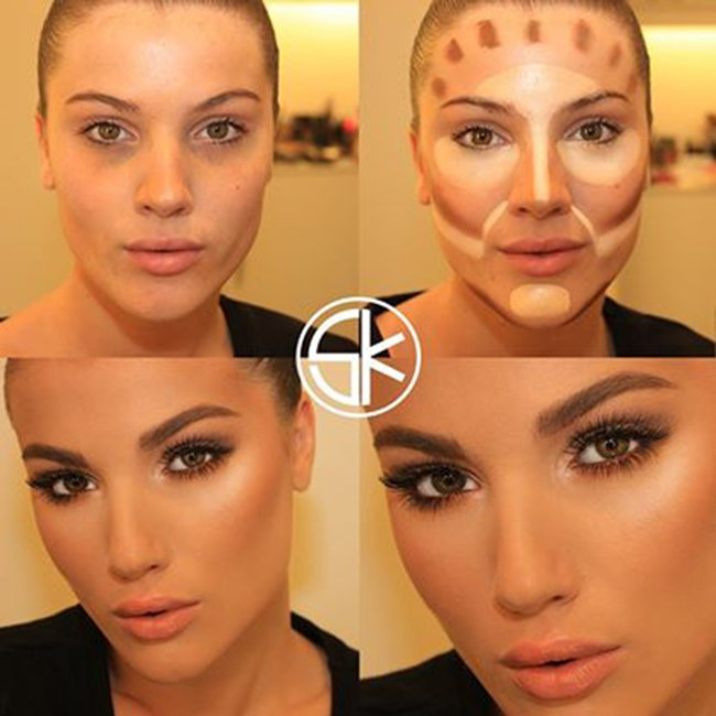 Как правильно наносить макияж на лицо в 50 лет 93
