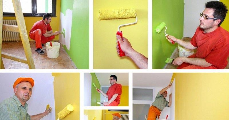 В какой цвет покрасить стены в доме