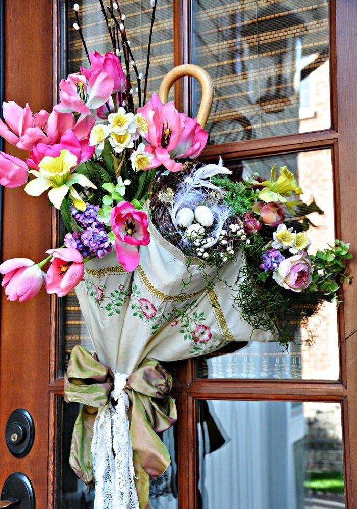 весенние флористические композиции