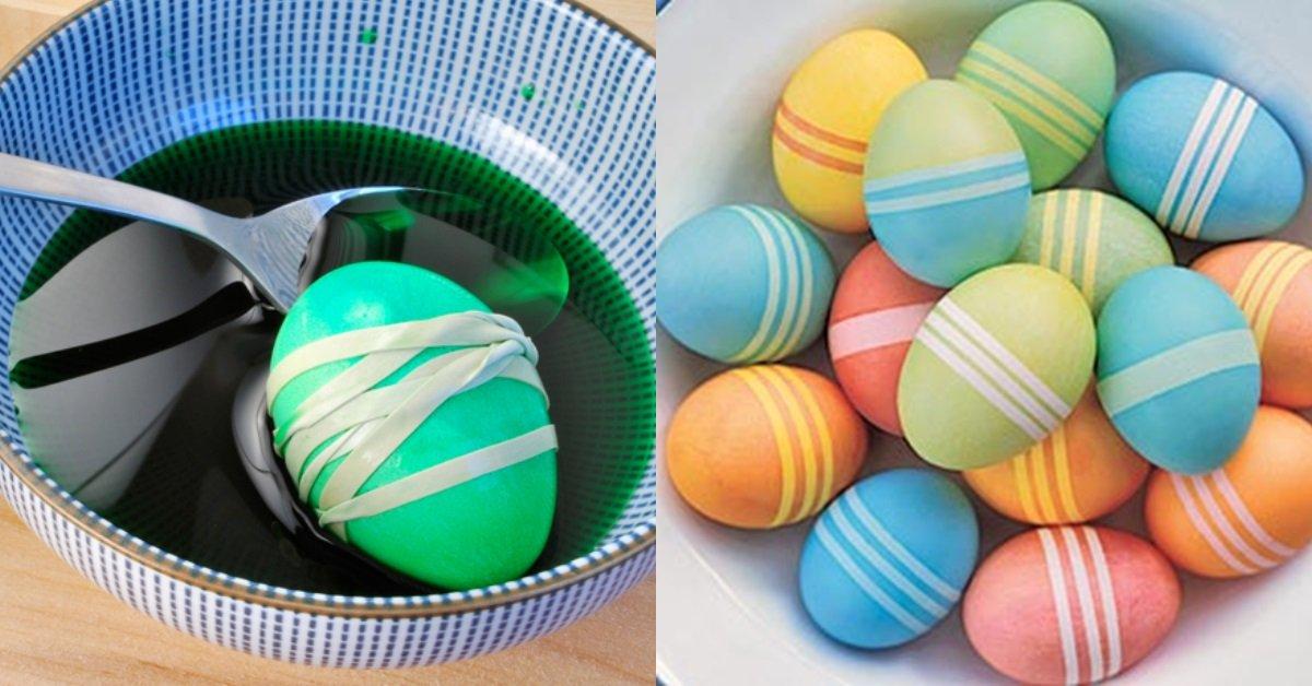 пасхальные яйца наклейки