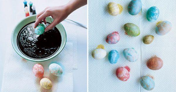 Создай из пасхальных яиц настоящие шедевры! Удивительный декор за 10 минут.