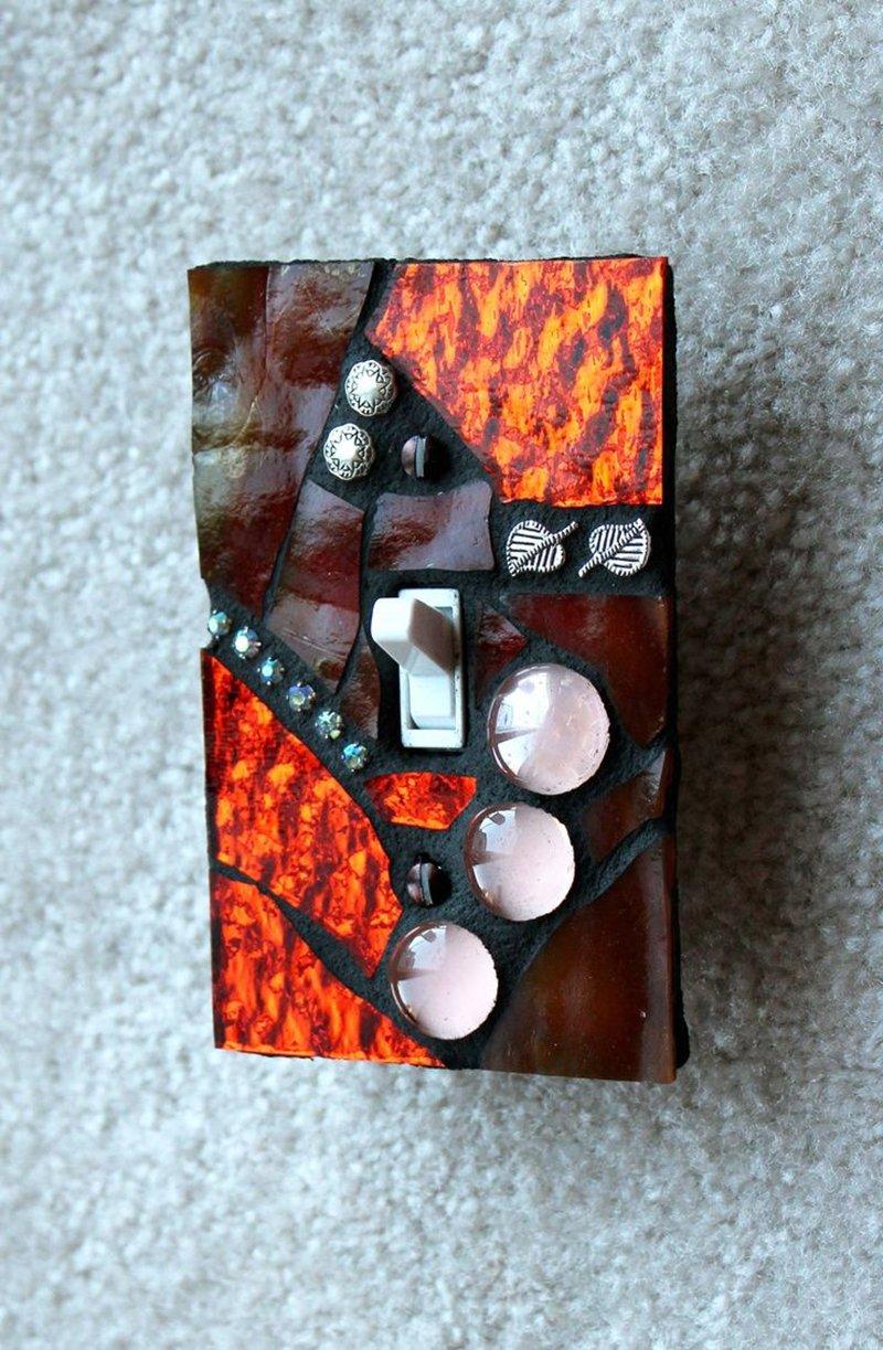 мозаика на электро приборах