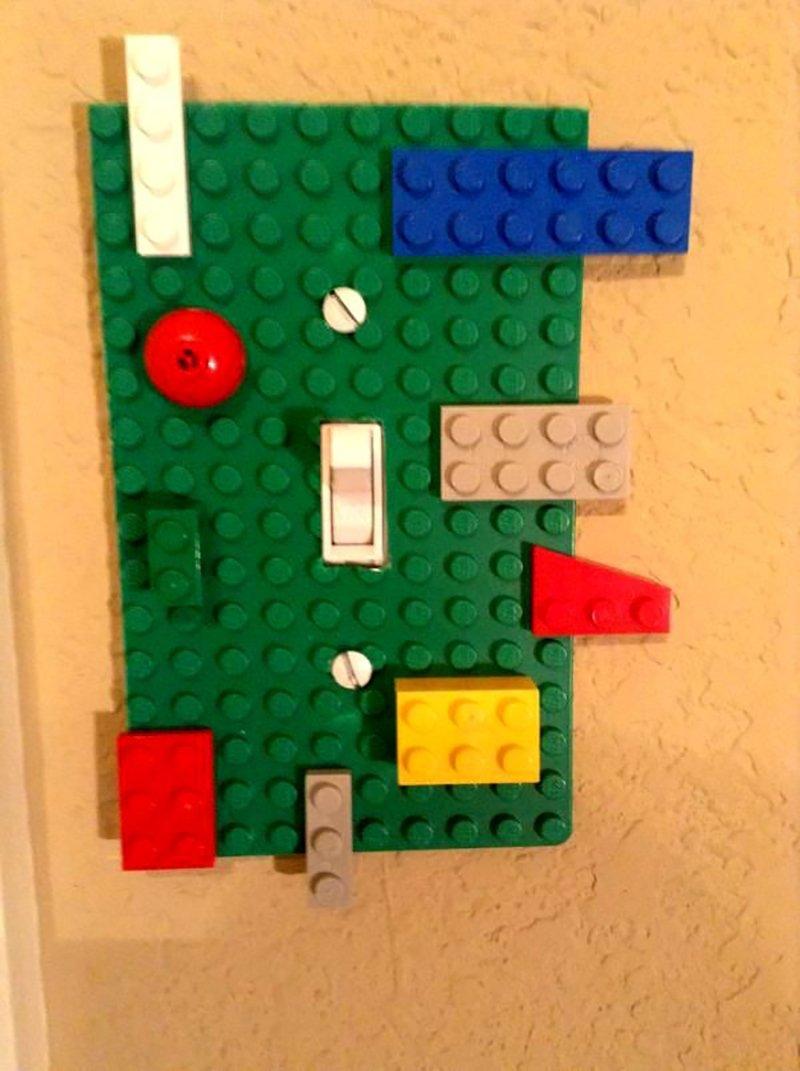 конструктор лего для декора выключателя