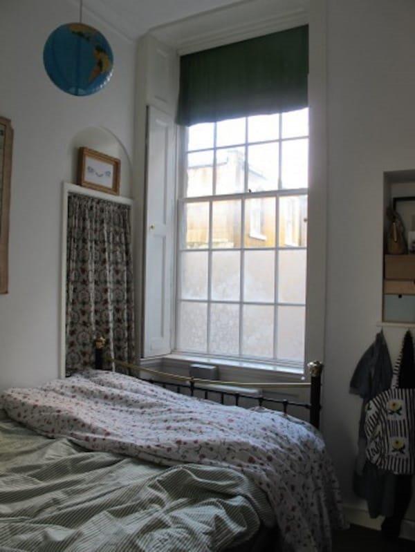 прозорец с ръцете си декор
